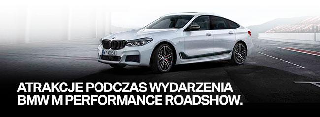 Atrakcje podczas BMW M Performance RoadShow.
